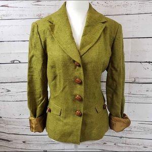 Adrienne Vittadini 100% Wool Blazer